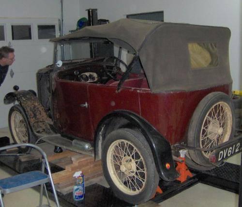 1930 Super 7 Tourer