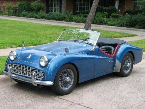 1959 TR3A